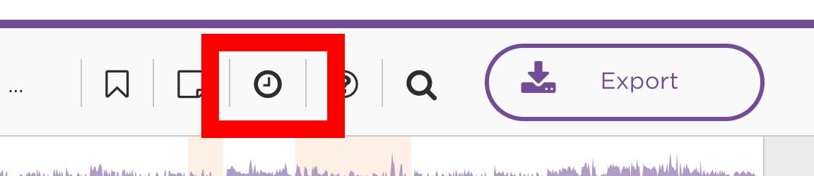 Click the clock icon