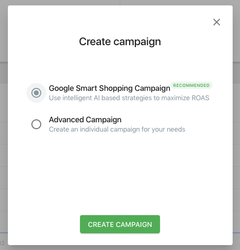emarketing google smart shopping campaign creation