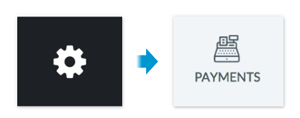 Clicking Settings > Payments on the web app