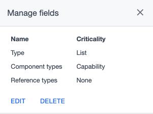 Ardow manage fields