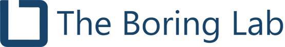 The Boring Lab Help Center