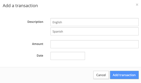 add a deposit manually to a unit