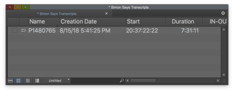 Open Avid Media Composer. Then open the bin and select the media which the new markers are destined for.