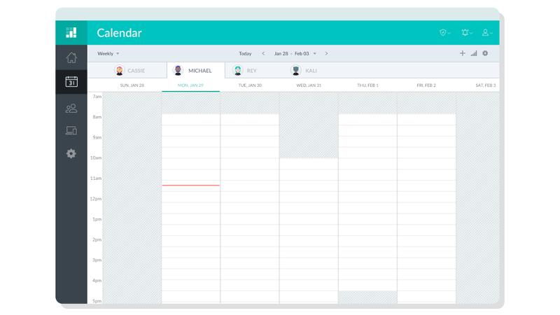 Setmore_Admin_Calendar