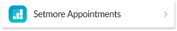Choosing Setmore Appointments
