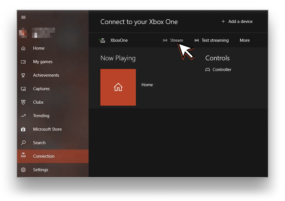 Connect to Xbox One