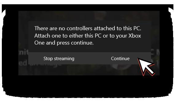 Xbox One warning
