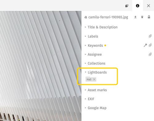 Lightboards in Pics.io