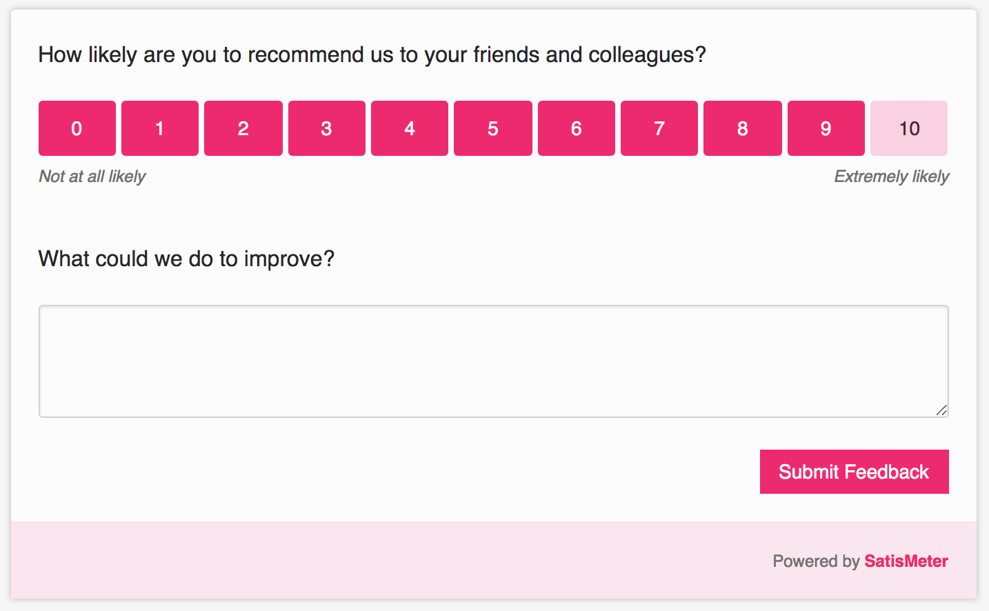 SatisMeter Customer Feedback - How to launch your survey