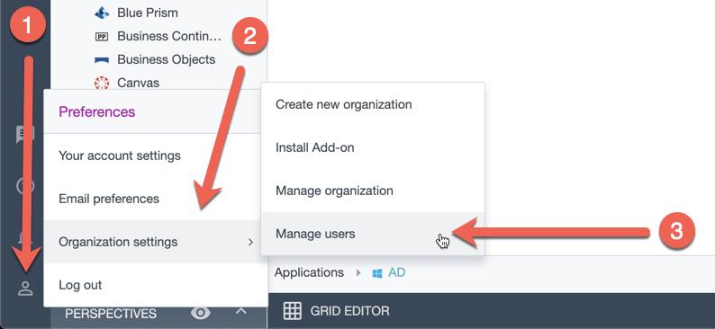 Ardoq manage users