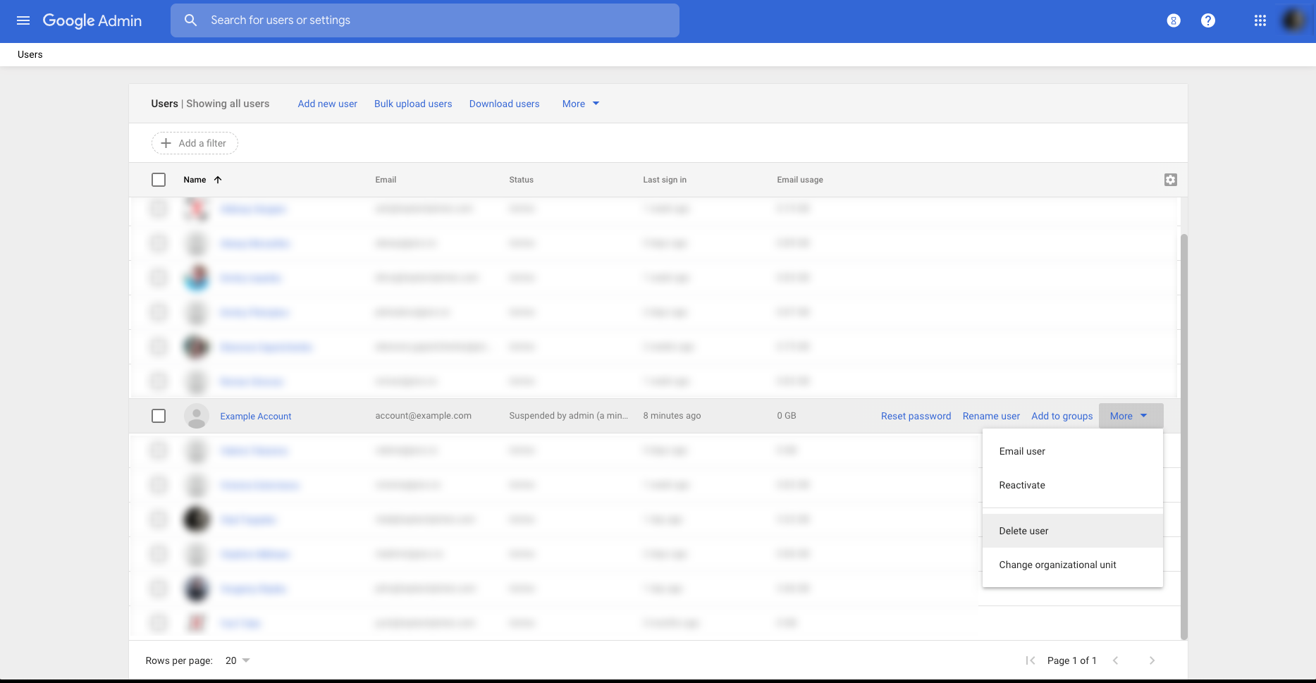 Login to your G Suite admin