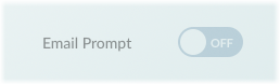 The Email Prompt switch