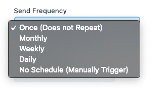 send frequency
