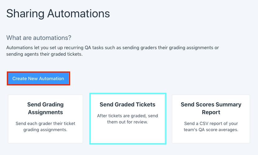 send graded tickets