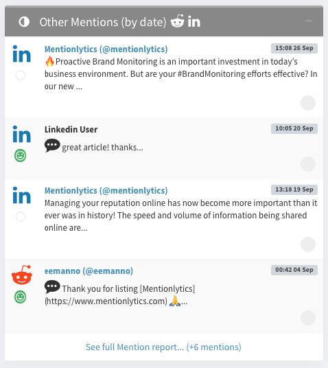 linkedin-monitoring