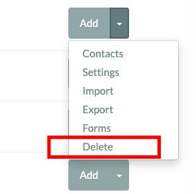 Delete a List