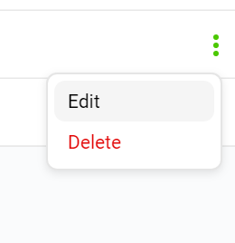 edit dialog