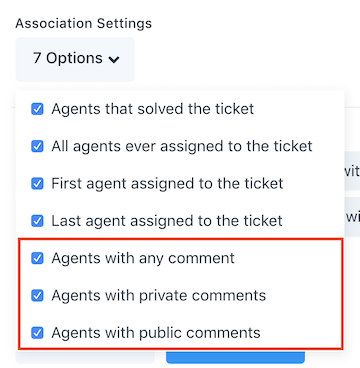 agent comment rules