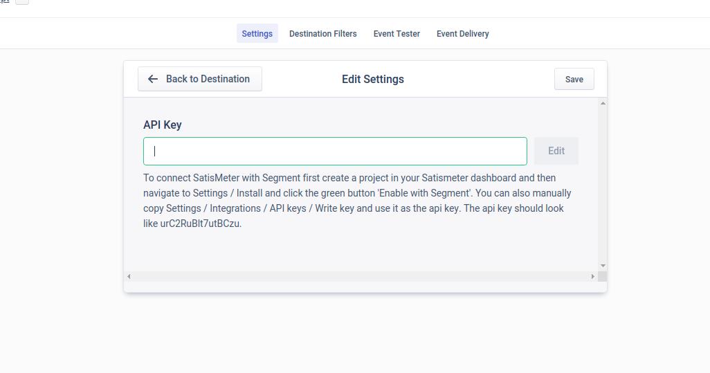Installing SatisMeter with Segment