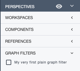 Ardoq applying graph filters