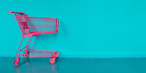 Empty Shopping Basket Photo