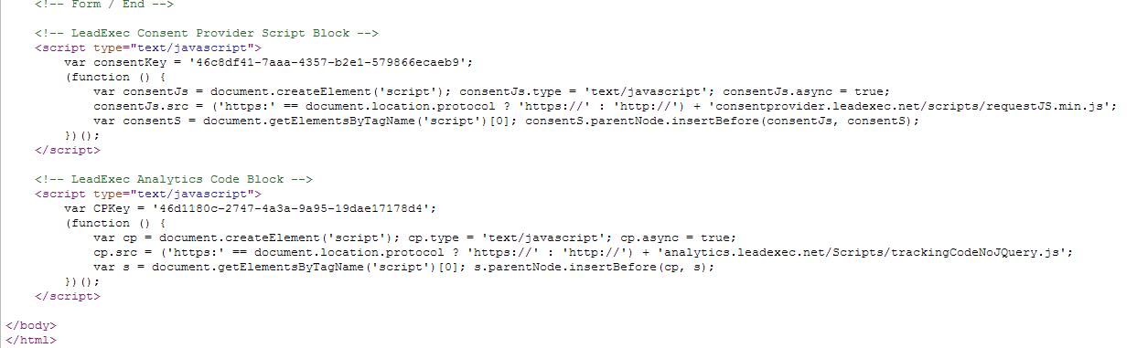TCPA script