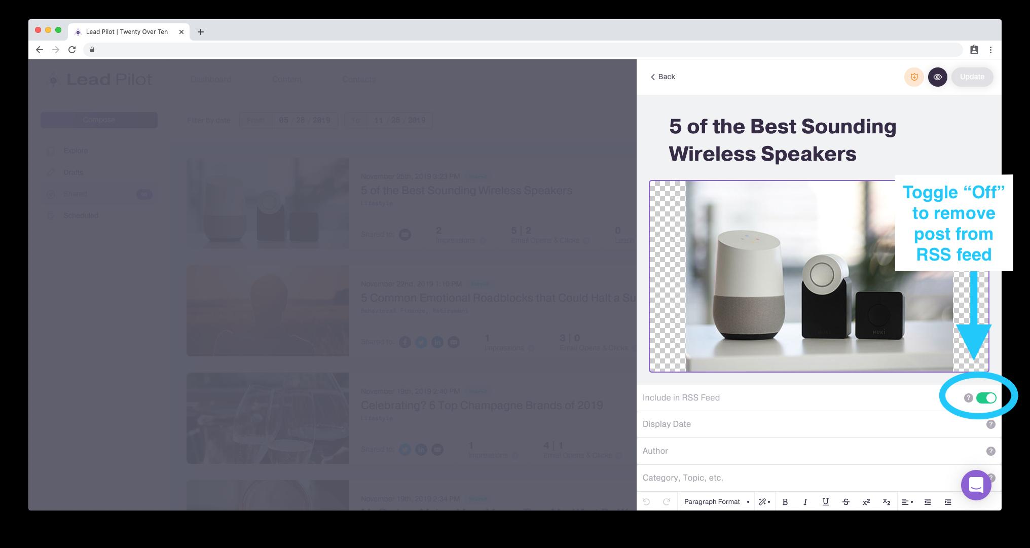 Adding blogs to a website