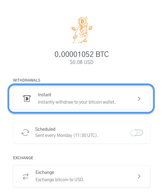 Image of OpenNode Bitcoin wallet for Bitcoin Transfers
