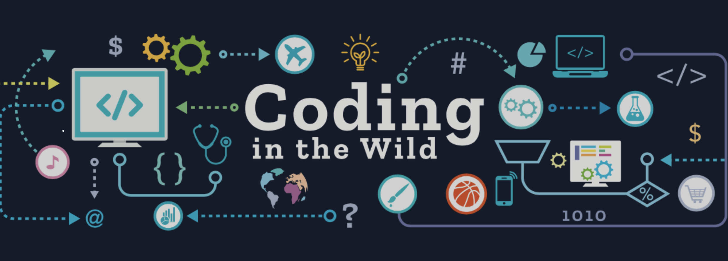 Coding in the Wild Banner