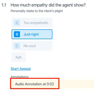 agent empathy question