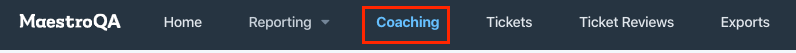 coaching tab