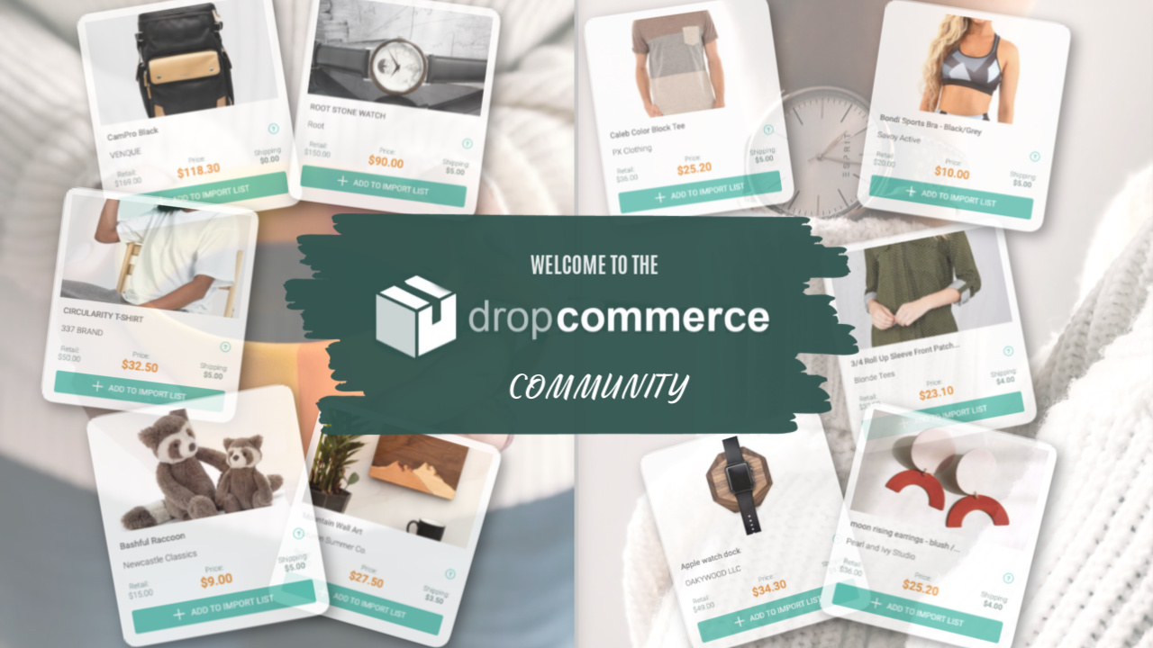 Dropshipping Dropcommerce facebook community join now
