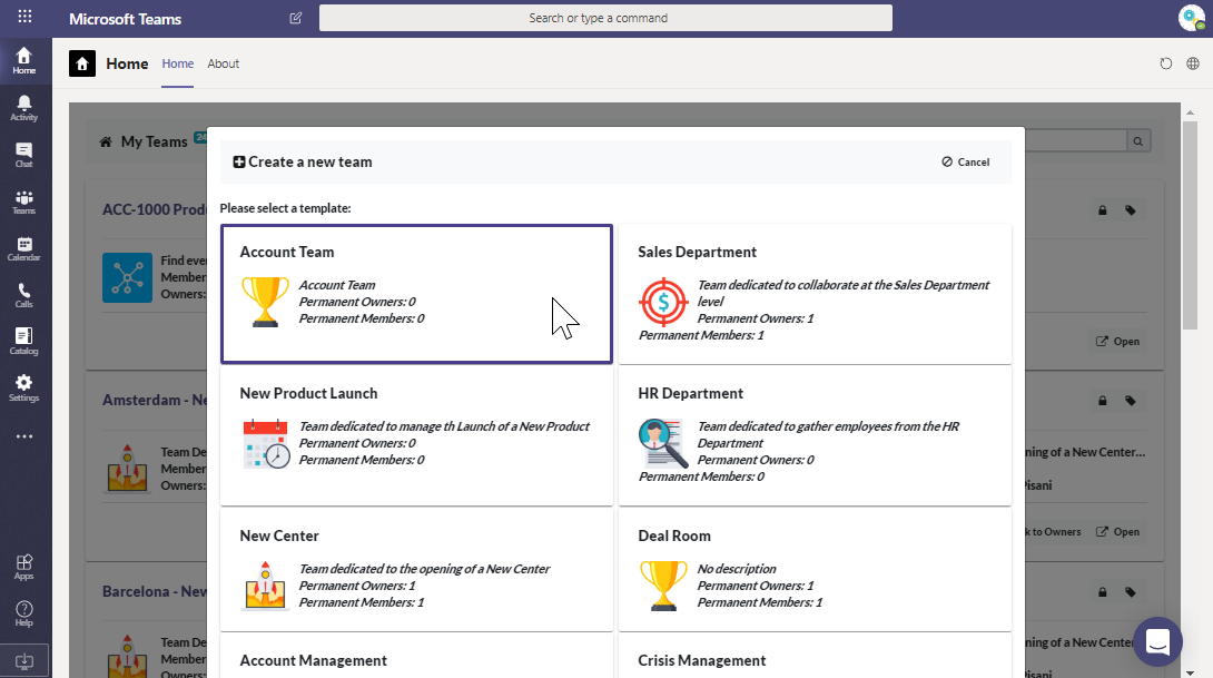 Microsoft Teams governance: audience targeting
