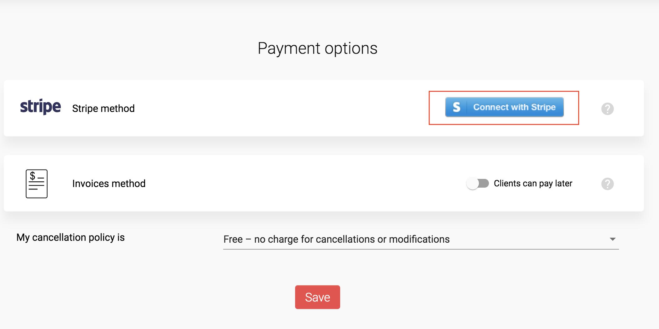 MeetFox Payment Options Stripe