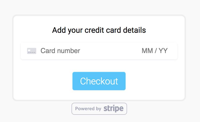 MeetFox credit card payment