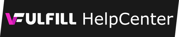 vFulfill - Help Center