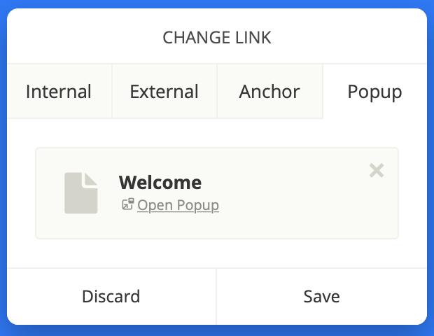 Open PopUp