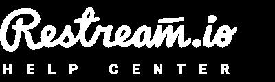 Restream Help Center