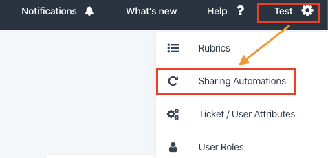 sharing automations