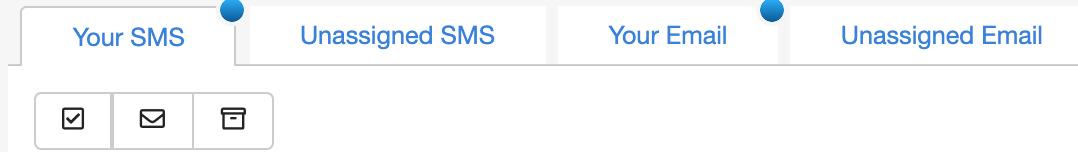 Dentally Inbox unopened correspondence