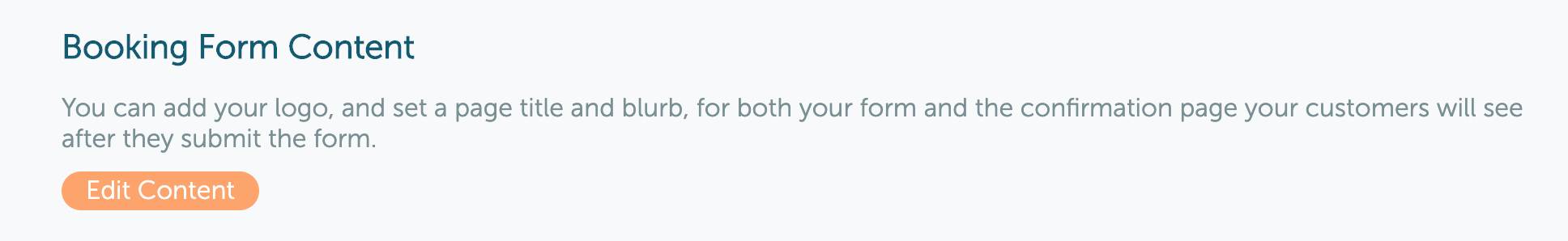 Booking Form Content