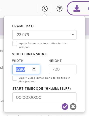 Set video resolution