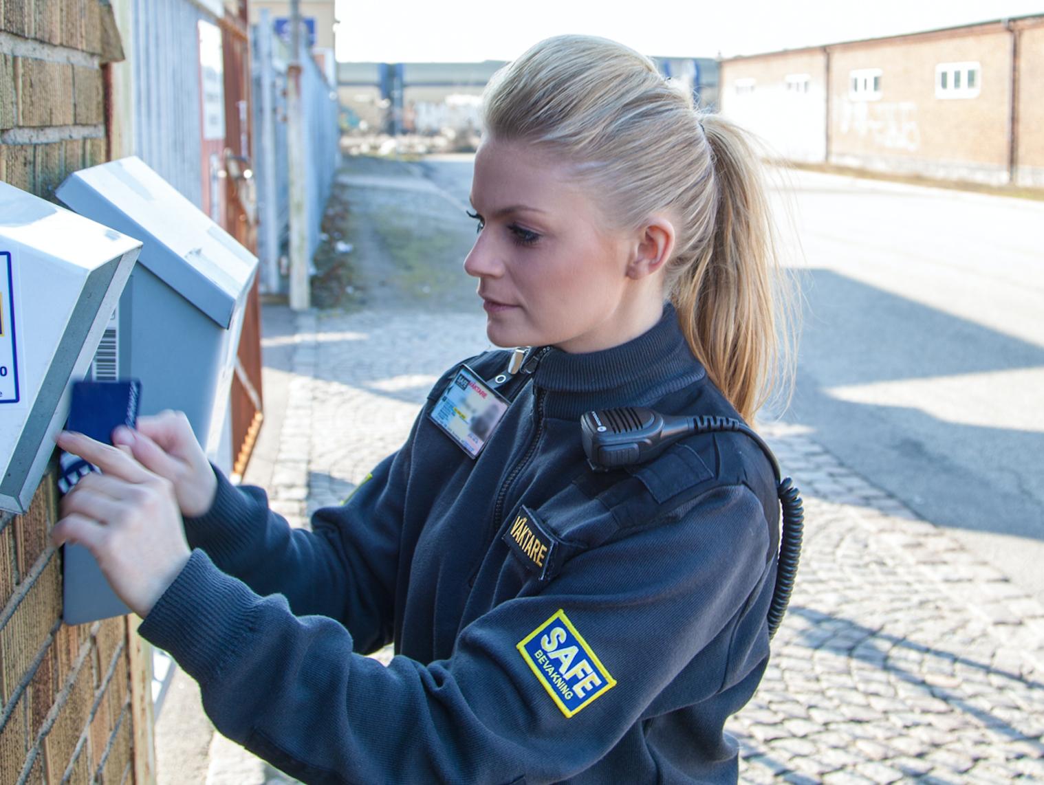 Väktare Nu Svenska Alarm