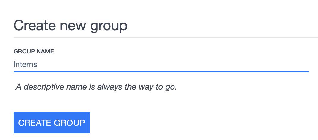 Ardoq create new group