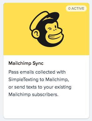 Setting up Mailchimp sync
