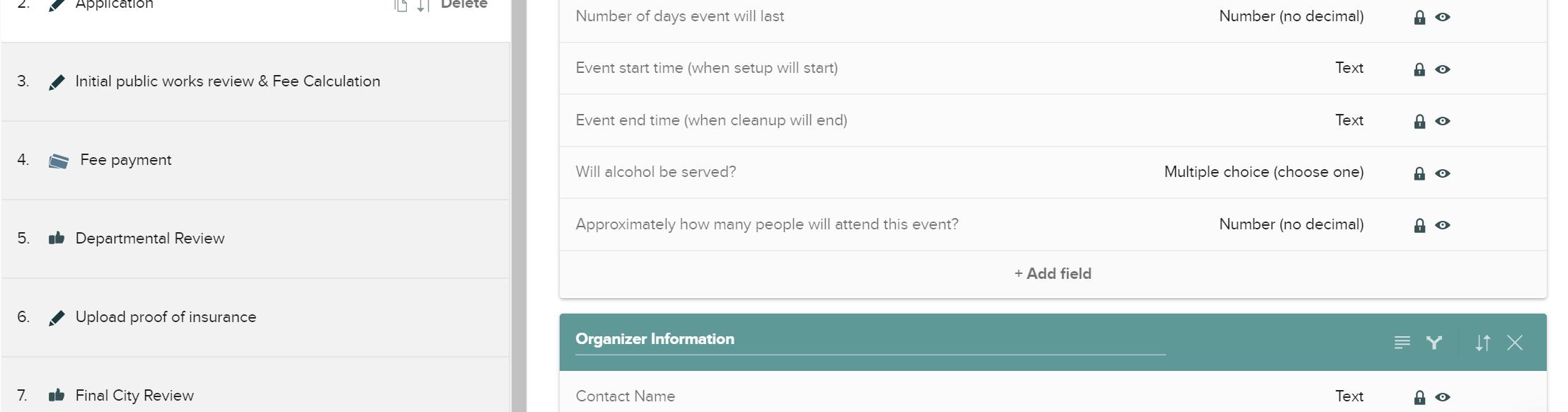 CityGrows Special Events permit example