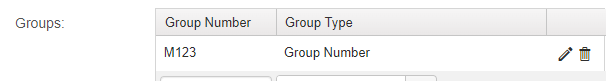 Using the COVID assessment group number