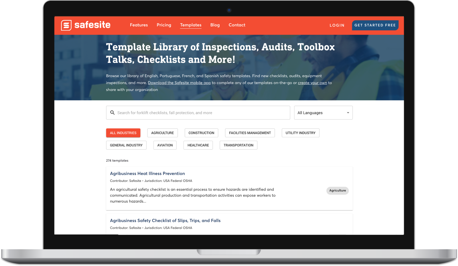 Public Template Library