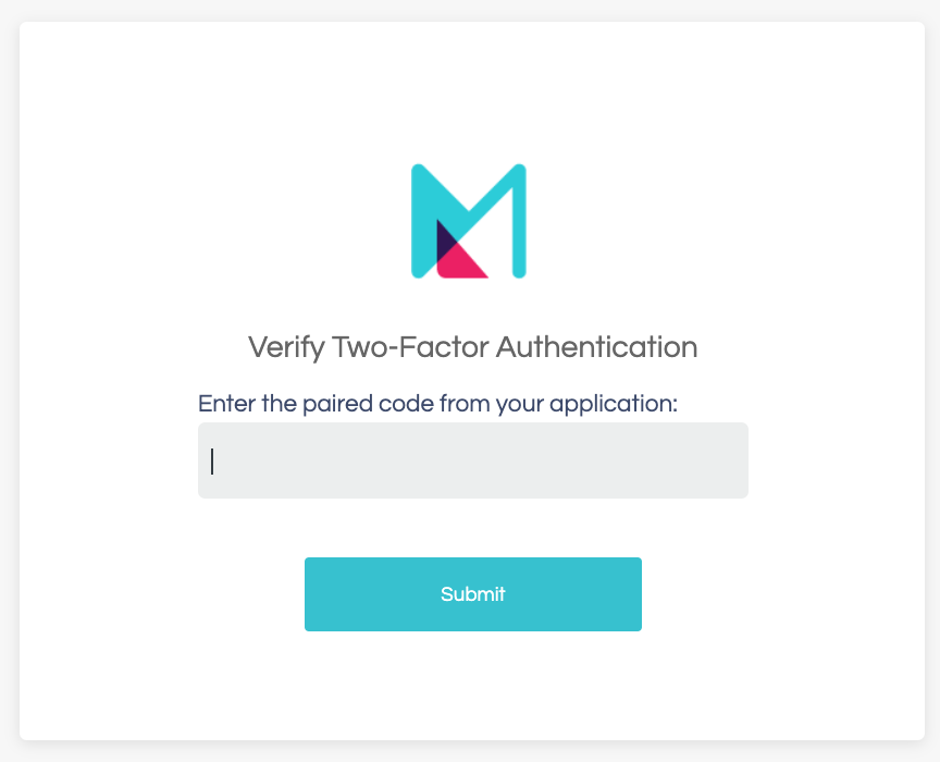 Use 2Factor Authentication in Minim
