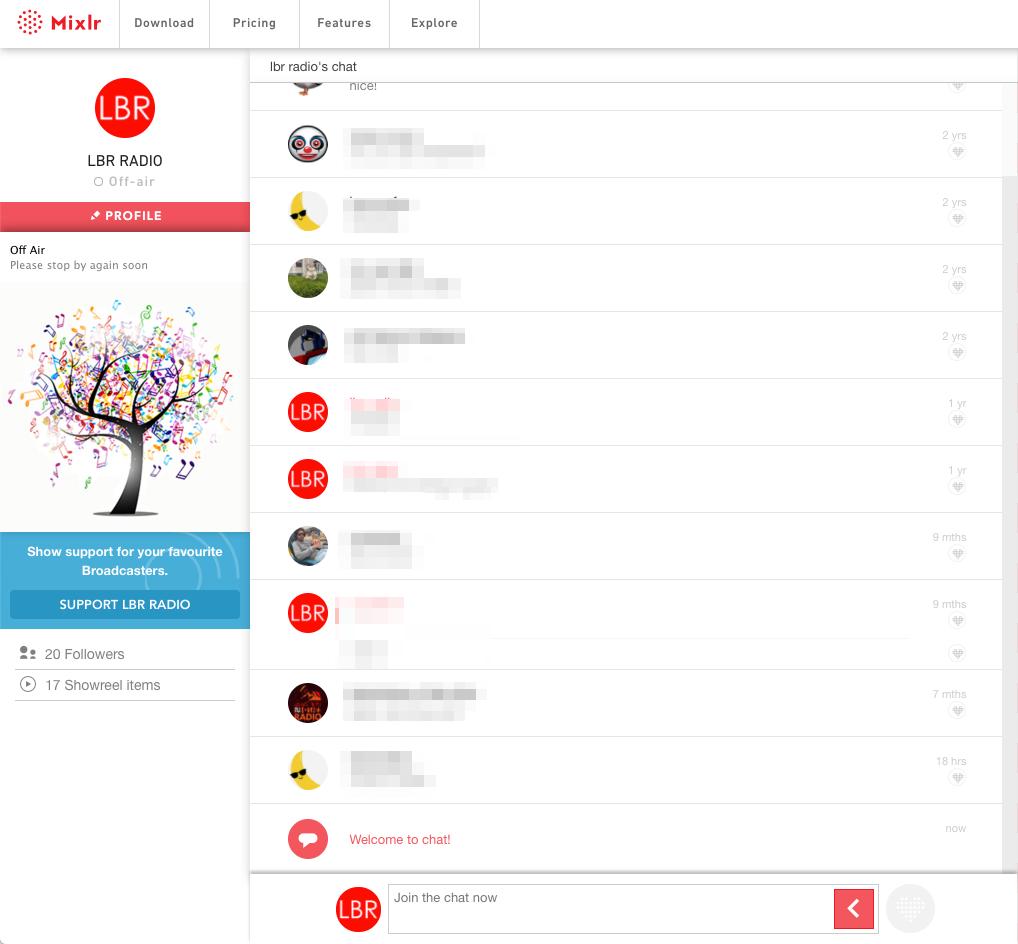 Desktop Livepage